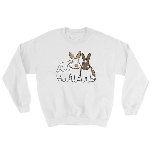 Three Bunnies Sweatshirt