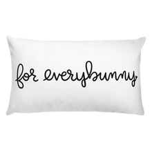 ForEverybunny Basic Pillow