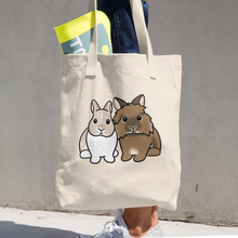 Fe And Kingsley Cotton Tote Bag