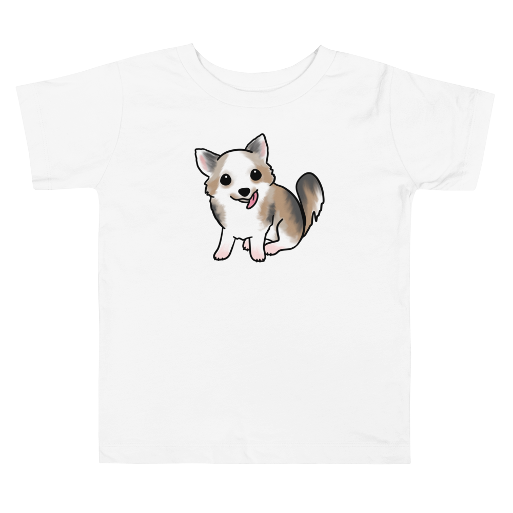 Fluffy Chihuahua Toddler T-shirt