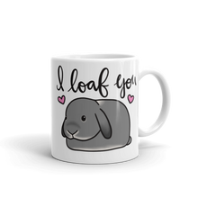 Grey Lop I Loaf You Mug