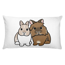 Fe And Kingsley Rectangular Pillow