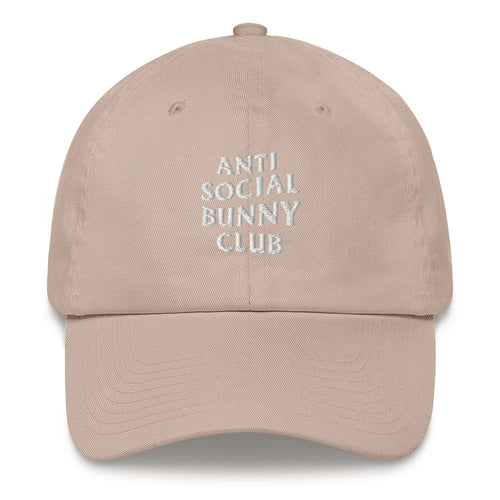 Anti Social Bunny Club Cap