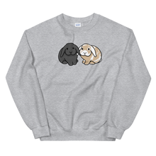 Grey and White Tan Lop Unisex Sweatshirt