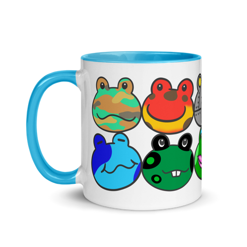 AC Frogs Colored Mug