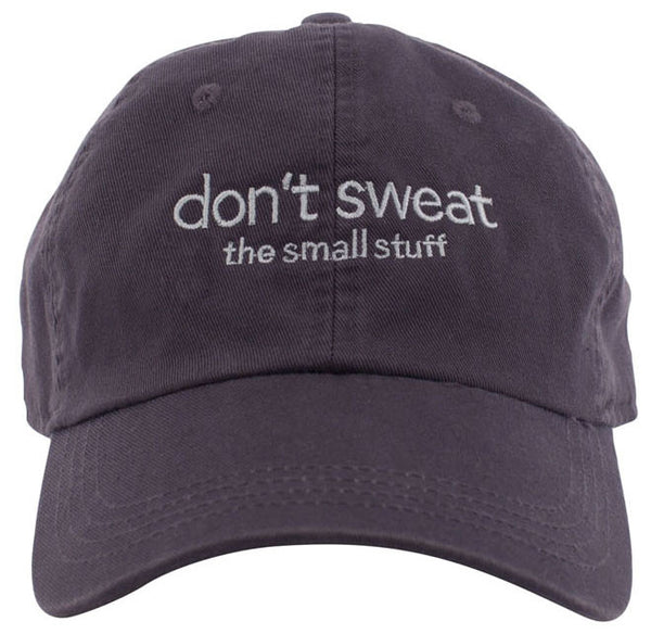 Don't Sweat Men's Twill Cap by Ahead