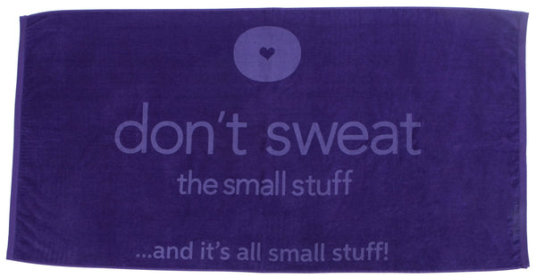 Don't Sweat Deluxe Beach Towel