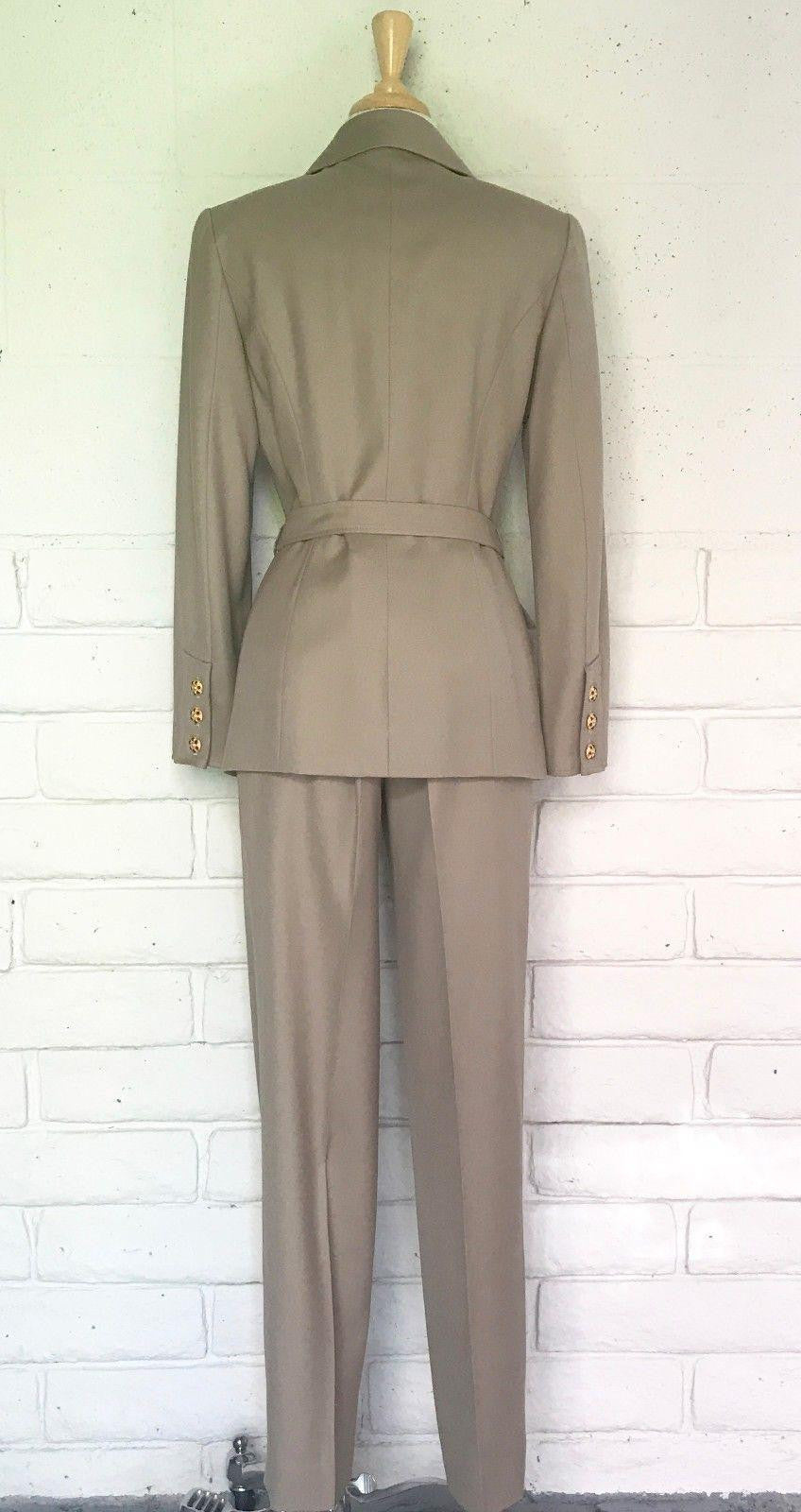 Isabella Military-Inspired Suit