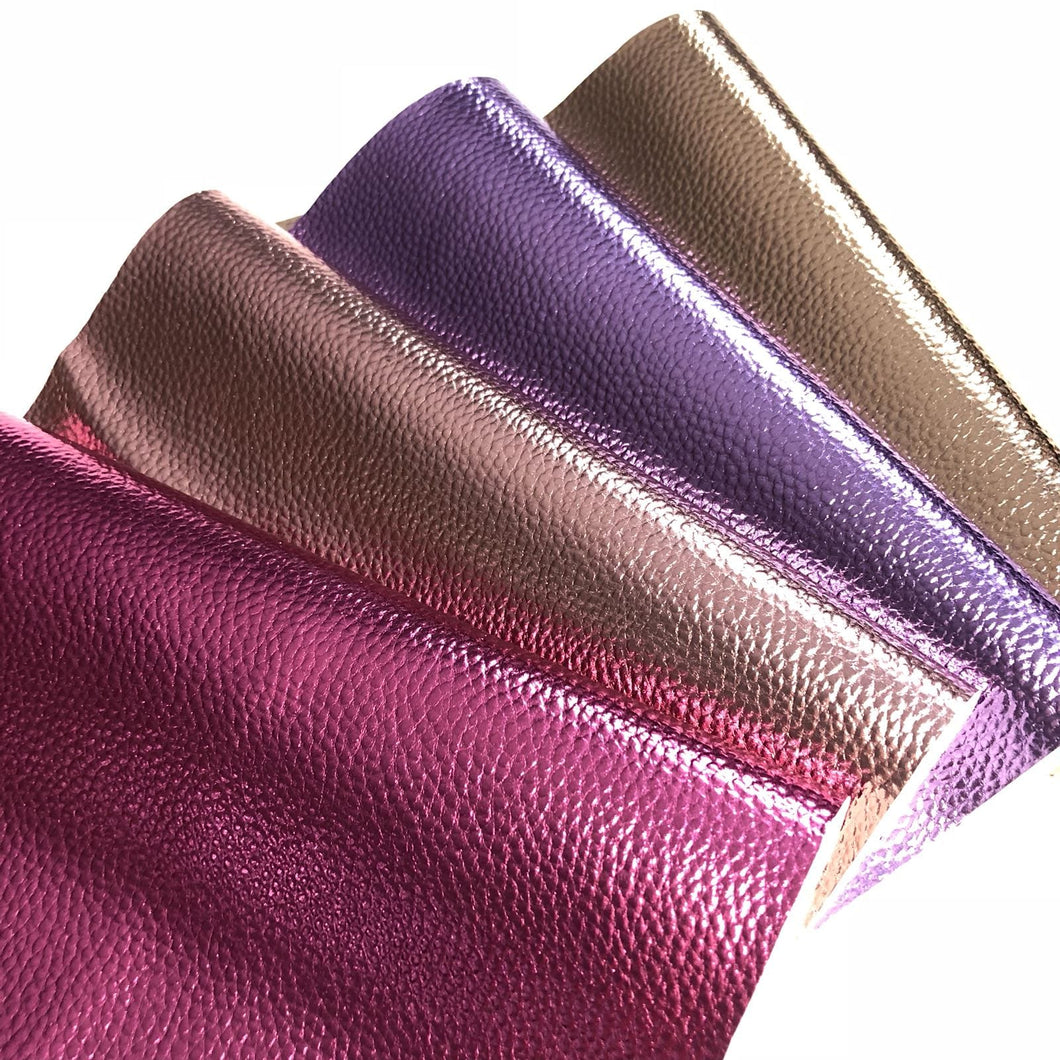 Metallic Faux PU Leather