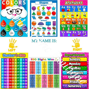 Colourful Personalised Educational Learning Panel