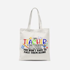 I am a Teacher Tote Bag