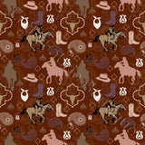 Paisley Cowboys Brown - Woven Cotton
