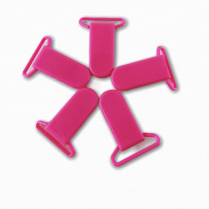 25mm Plastic Coloured Dummy Strap Clips | Online Fabric Australia