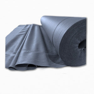 Charcoal Non Woven Light-Weight Iron on Interfacing | Buy Fabric