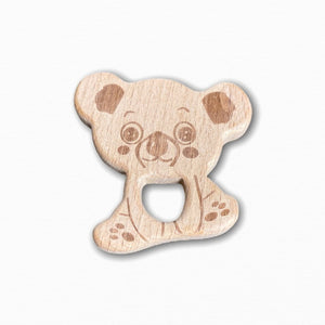Wooden Koala Teether Ring