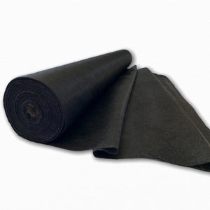 Black 122 cm Light-Weight Iron on Interfacing | Discount Fabric Online