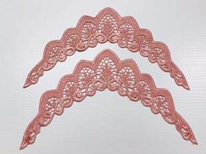 Dark Peach Flutter Wings - Large | Online Fabric Shops Australia