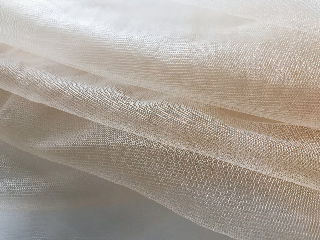 Soft Apricot Tulle