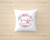 Floral Pink Sewing Machine Cushion Cover