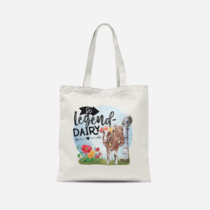 So Legend-Dairy Tote Bag