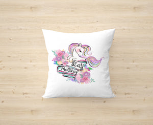 Stay Magical Unicorn Cushion Cover