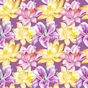 Summer Florals 8 - Woven Cotton