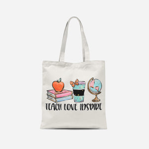 Teach Love Inspire Tote Bag
