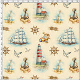 Sails Away - Woven Cotton