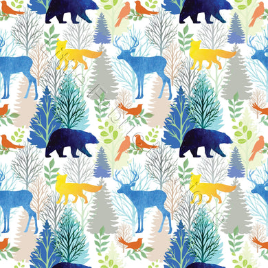 Pre-Order LFB Watercolour Forest Animals and Trees