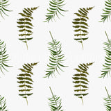 Simply Ferns - Woven Cotton
