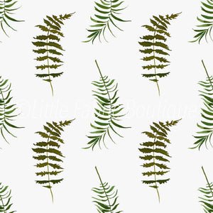 Simply Ferns - Knit 220gsm
