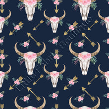 LFB Longhorn Floral Arrows On Navy