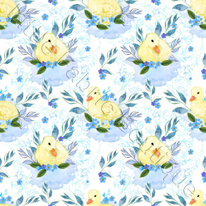 Fluffy Ducks - Woven Cotton