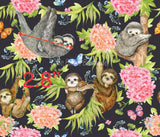 Pre-Order Watercolour Sloths 2