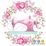 Floral Pink Sewing Machine Panel