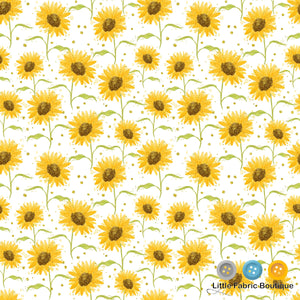 Sunflower Easter 1 - Woven Cotton