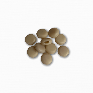 Silicone Beads - Khaki (10 pack)