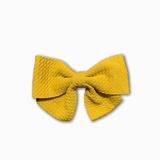 Bullet Fabric Solid Mustard Bow | Order Fabric Online Australia