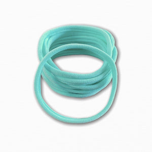 Mint Green Stretchy Soft Baby Headbands