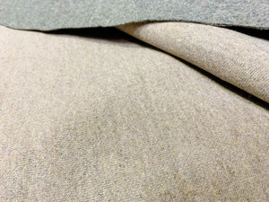 Coffee Knitted Cotton Blend Fabric