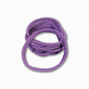Mauve Stretchy Soft Baby Headbands | Cheap Online Fabric Australia