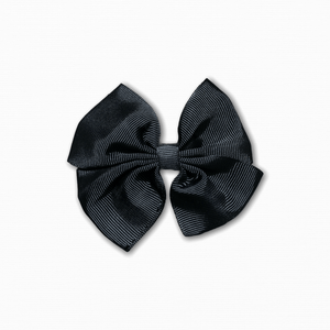 Grosgrain Pinwheel Black Bow | Buy Fabric Online Australia