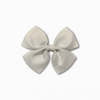 Grosgrain Pinwheel White Bow | Online Fabric Shopping Australia