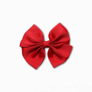 Grosgrain Pinwheel Red Bow | Discount Fabric Online Australia