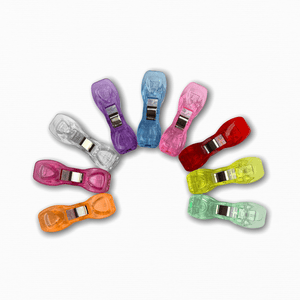 Large Coloured Wonder Clips | Online Fabric Store Australia