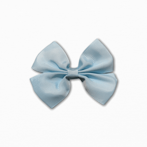 Grosgrain Pinwheel Light Blue Bow | Best Online Fabric Store Australia
