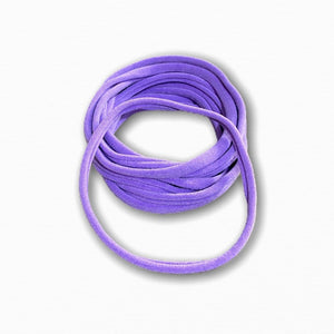Purple Stretchy Soft Baby Headbands