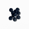 Silicone Beads - Navy (10 pack)