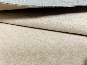 Coffee Knitted Cotton Blend Fabric | Online Fabric Australia
