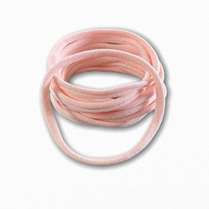 Baby Pink Stretchy Soft Baby Headbands | Online Fabric Shops Australia